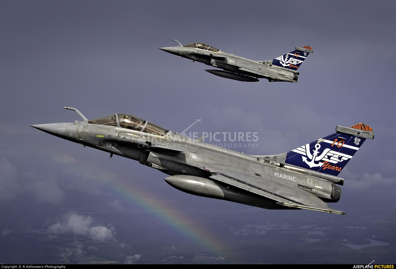 France - Navy 32 aircraft at In Flight - Belgium