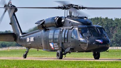 OM-BHK - Slovak Training Academy Sikorsky UH-60A Black Hawk