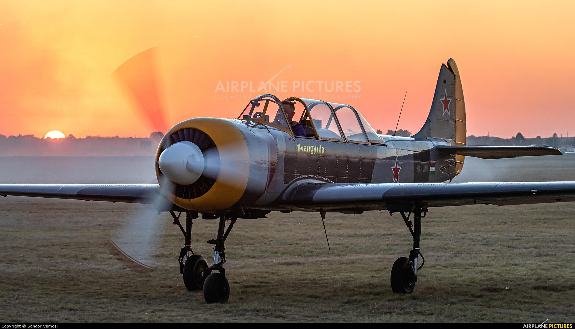 Private HA-JAV aircraft at Szeged