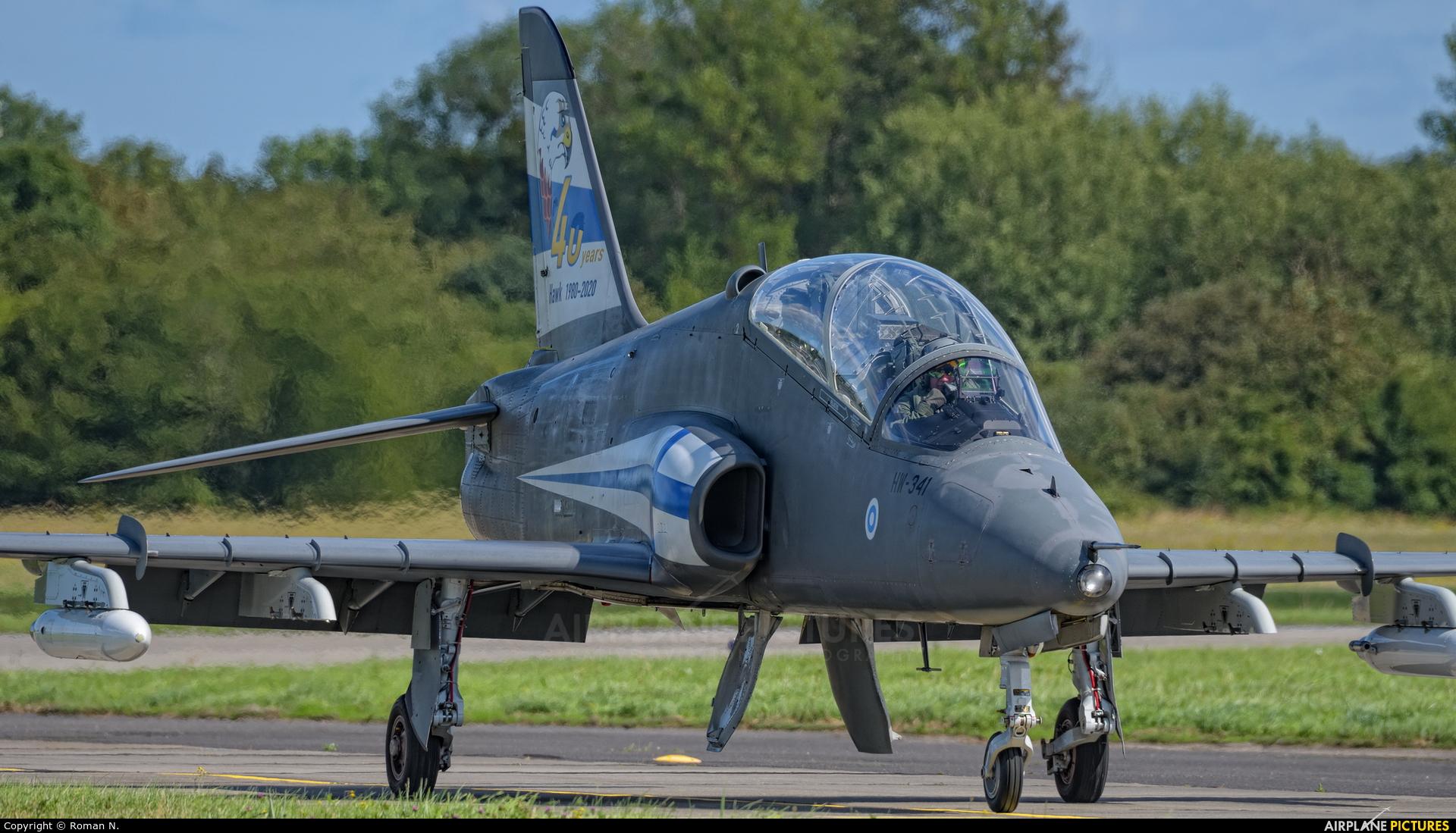 Finland - Air Force: Midnight Hawks HW-341 aircraft at Gdynia- Babie Doły (Oksywie)