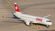 HB-JCE - Swiss Bombardier CS300 aircraft