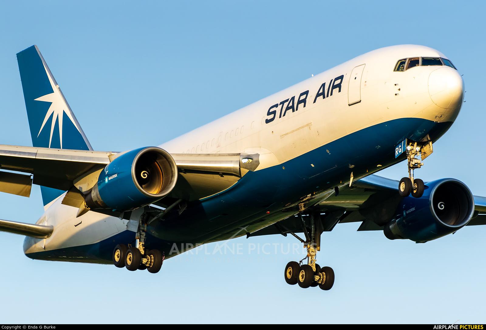 Star Air Cargo OY-SRG aircraft at Birmingham