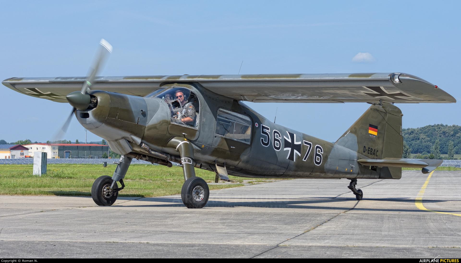 Private D-EBAC aircraft at Bautzen