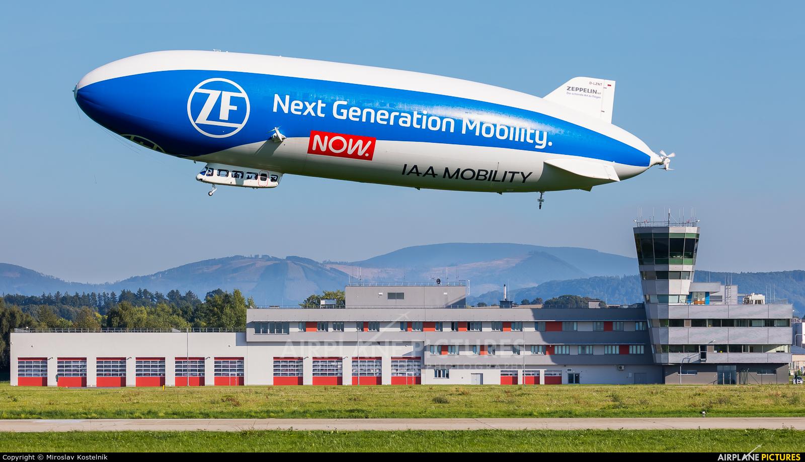 Airship Ventures D-LZNT aircraft at Ostrava Mošnov