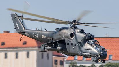 334 - Hungary - Air Force Mil Mi-24P