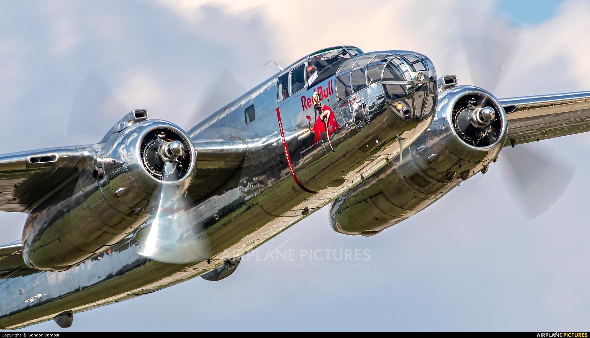 The Flying Bulls N6123C aircraft at Malacky - Kuchyna