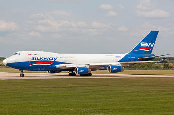 4K-SW800 - Silk Way West Airlines Boeing 747-400F, ERF