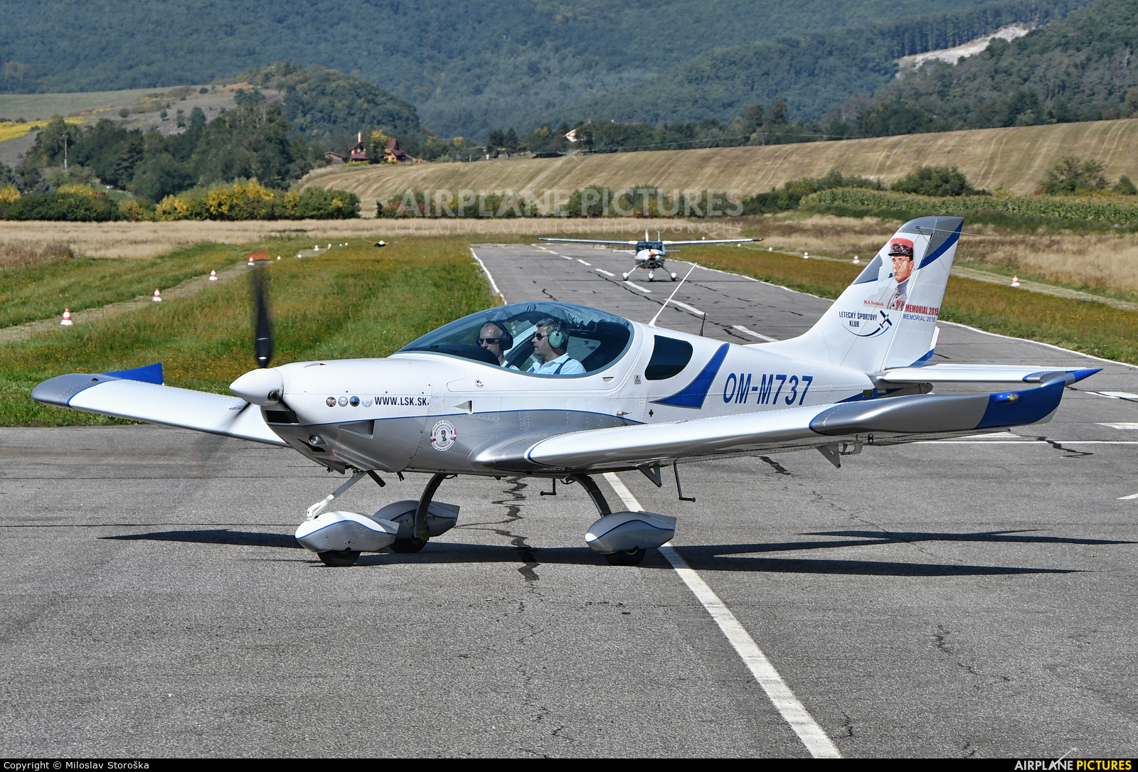 Letecky Sportovy Klub Zvolen OM-M737 aircraft at Dobra Niva