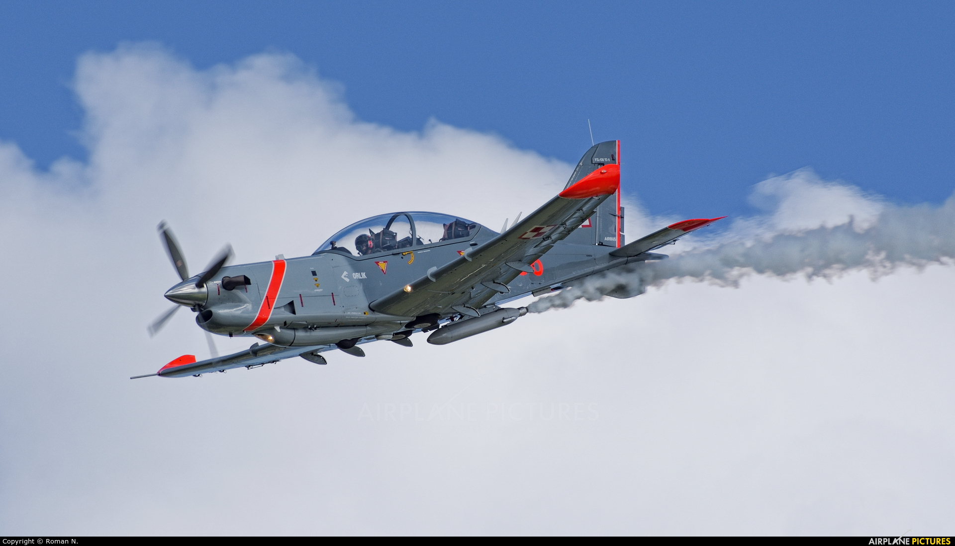 "Poland - Air Force ""Orlik Acrobatic Group"" 036 aircraft at Gdynia- Babie Doły (Oksywie)"