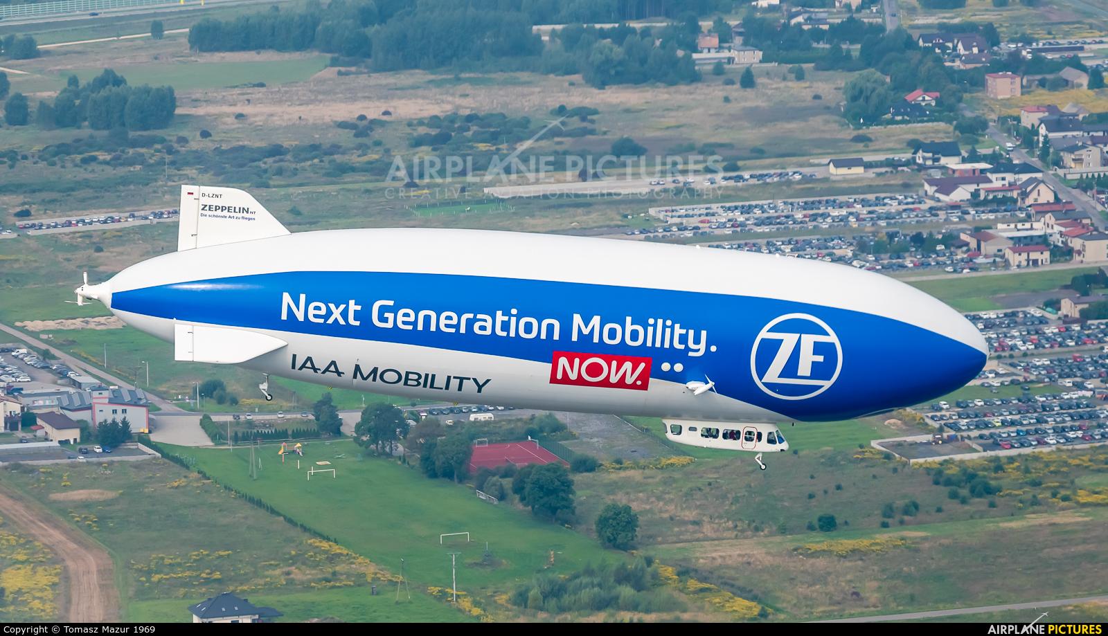 Airship Ventures D-LZNT aircraft at Katowice - Pyrzowice