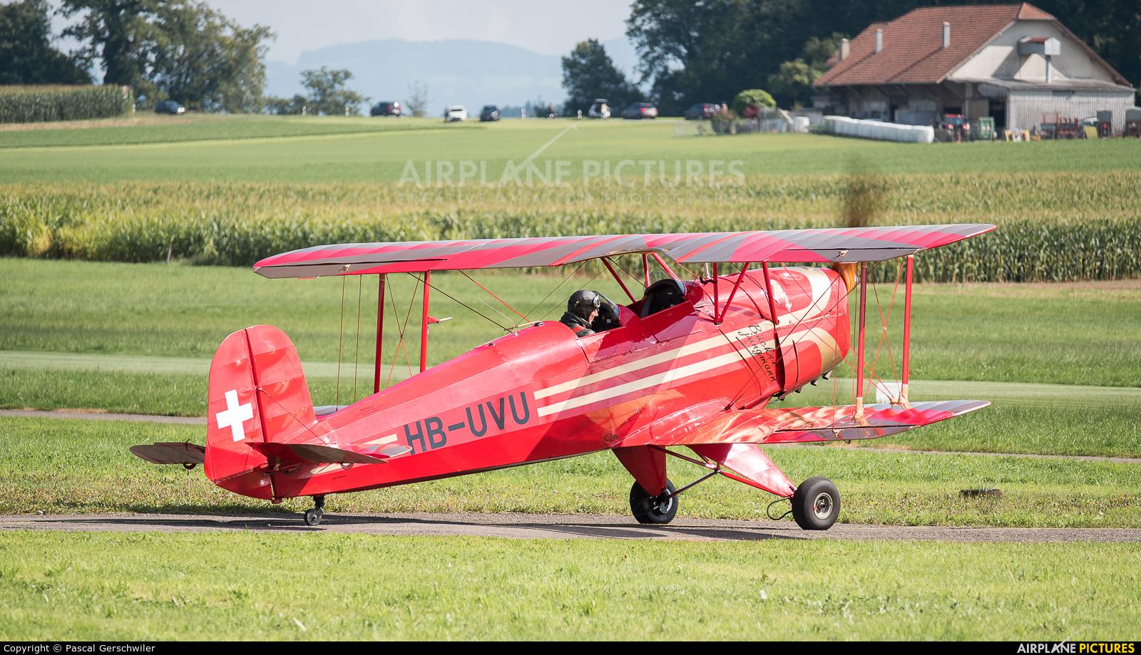 Private HB-UVU aircraft at Off Airport - Switzerland