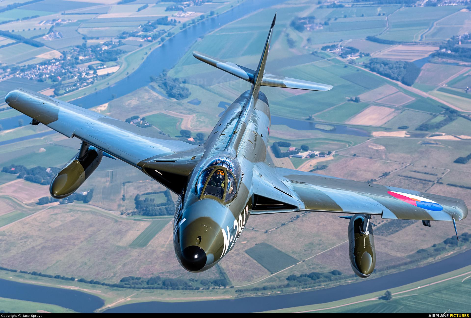 Dutch Hawker Hunter Foundation N-294 aircraft at In Flight - Netherlands