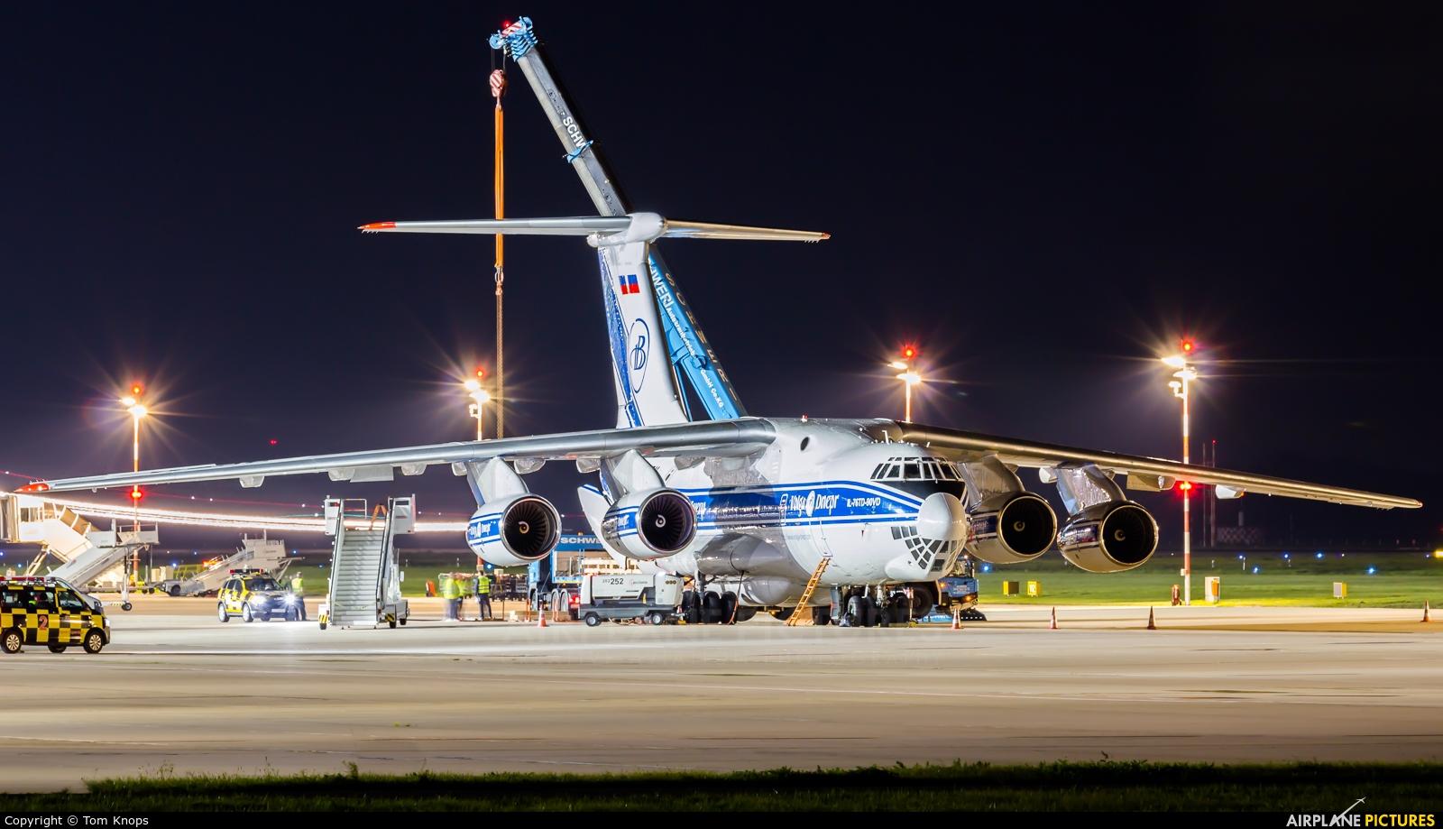 Volga Dnepr Airlines RA-76511 aircraft at Düsseldorf