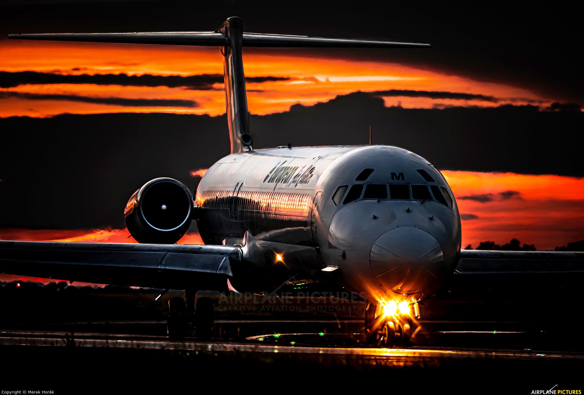 Bulgarian Air Charter LZ-LDM aircraft at Prague - Václav Havel