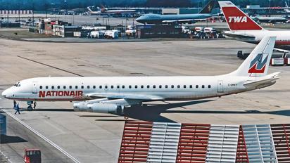 C-GMXY - Nationair Douglas DC-8-62