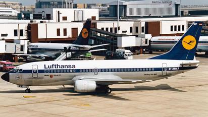 D-ABXF - Lufthansa Boeing 737-300