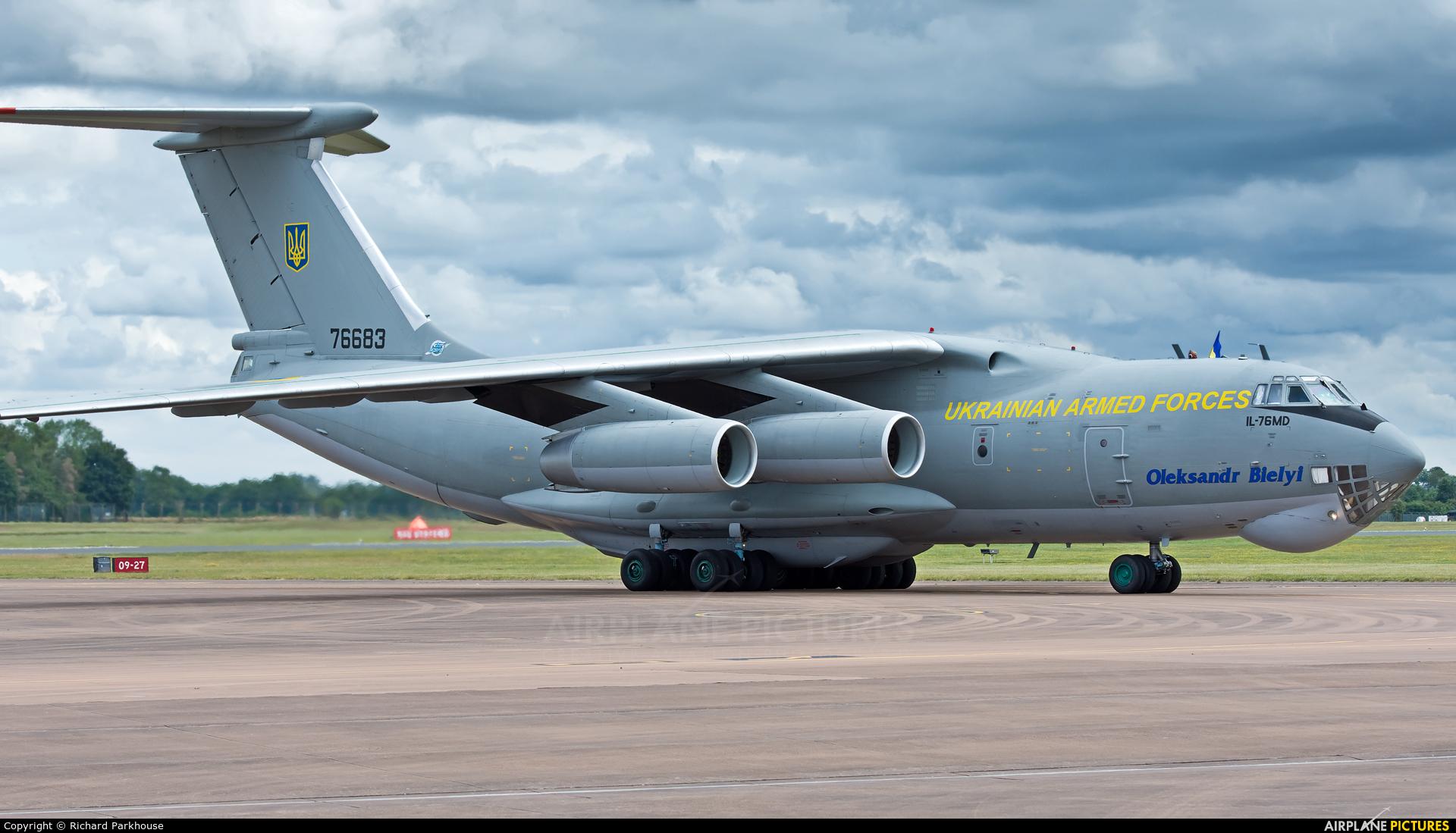 Ukraine - Air Force 76683 aircraft at Fairford