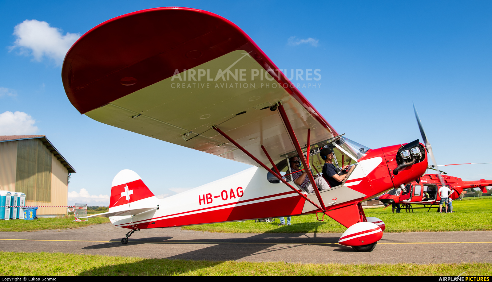 Private HB-OAG aircraft at Off Airport - Switzerland