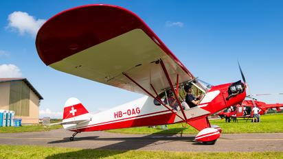 HB-OAG - Private Piper J3 Cub