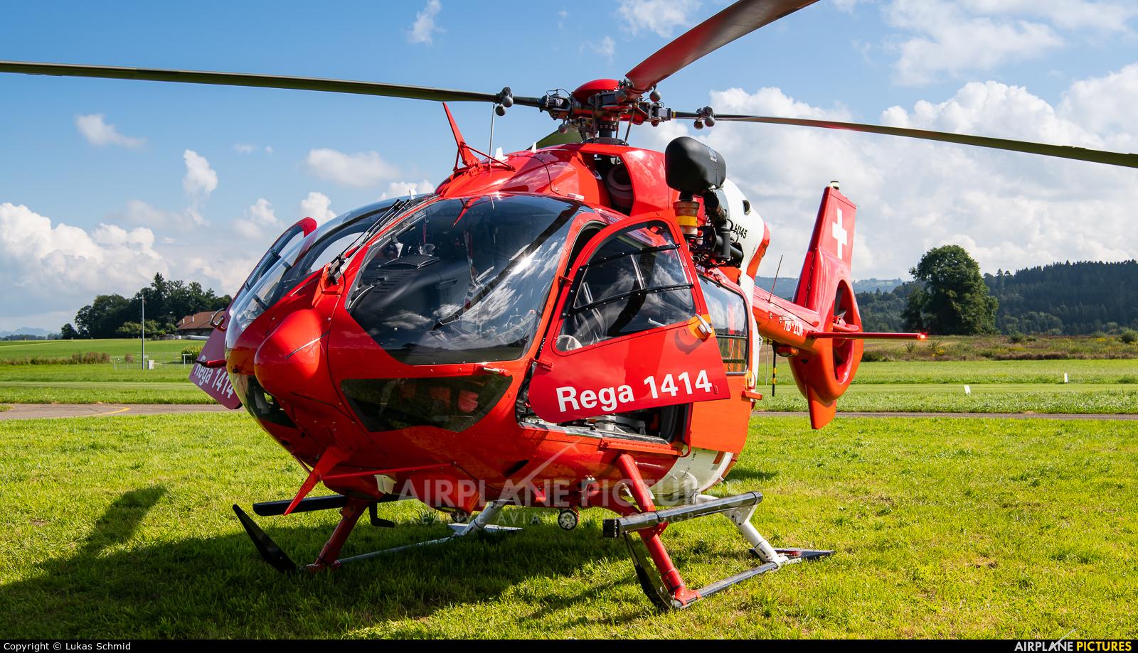 REGA Swiss Air Ambulance  HB-ZQN aircraft at Off Airport - Switzerland