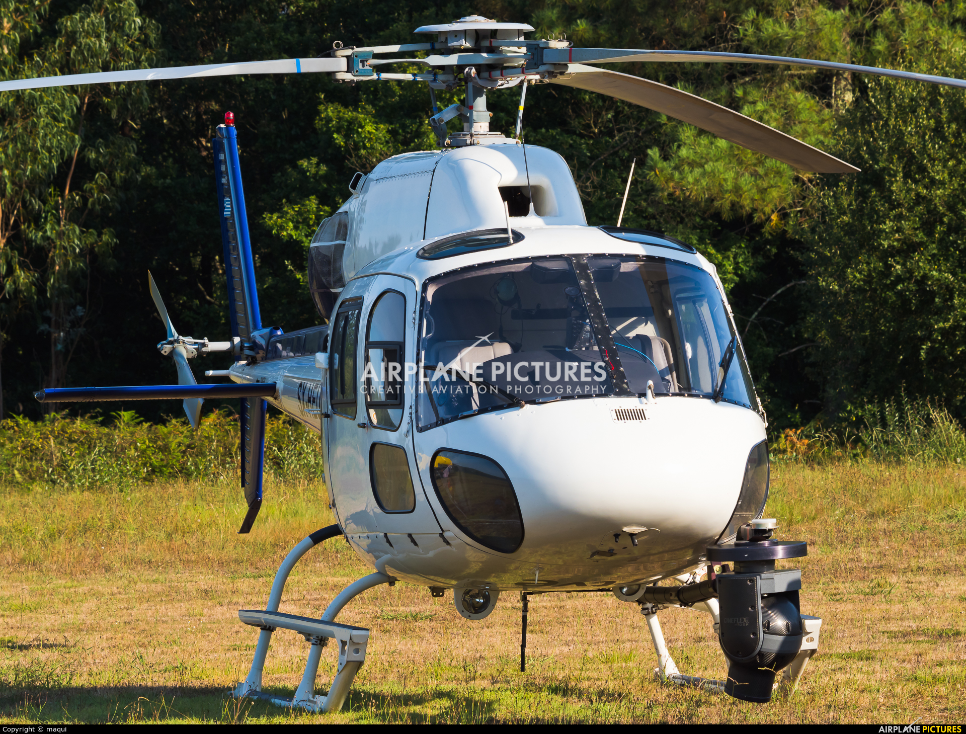 Sky Helicopteros SX-HEU aircraft at La Coruña - Off Airport