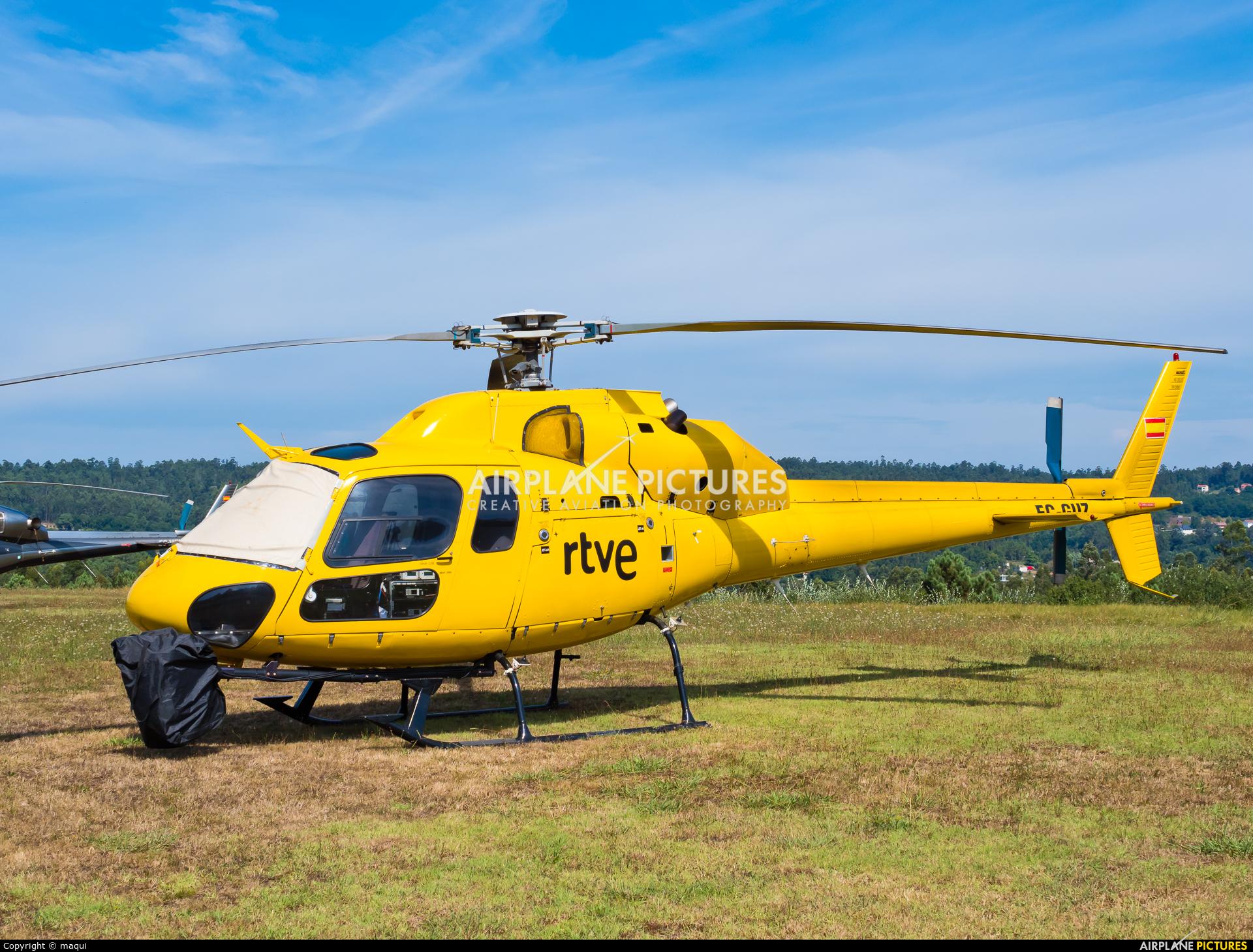 Sky Helicopteros EC-GUZ aircraft at La Coruña - Off Airport