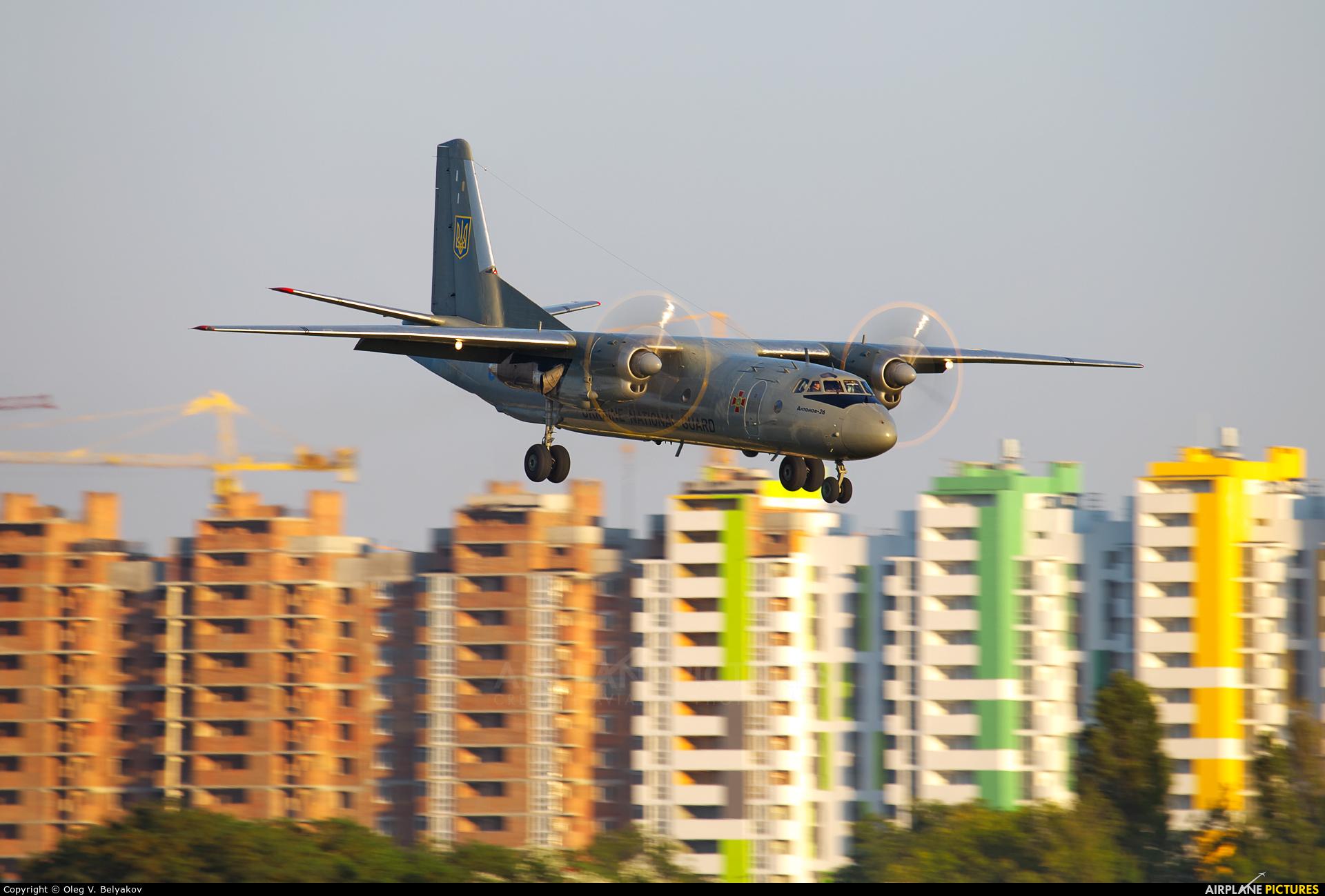 Ukraine - National Guard 05 aircraft at Kyiv - Zhulyany