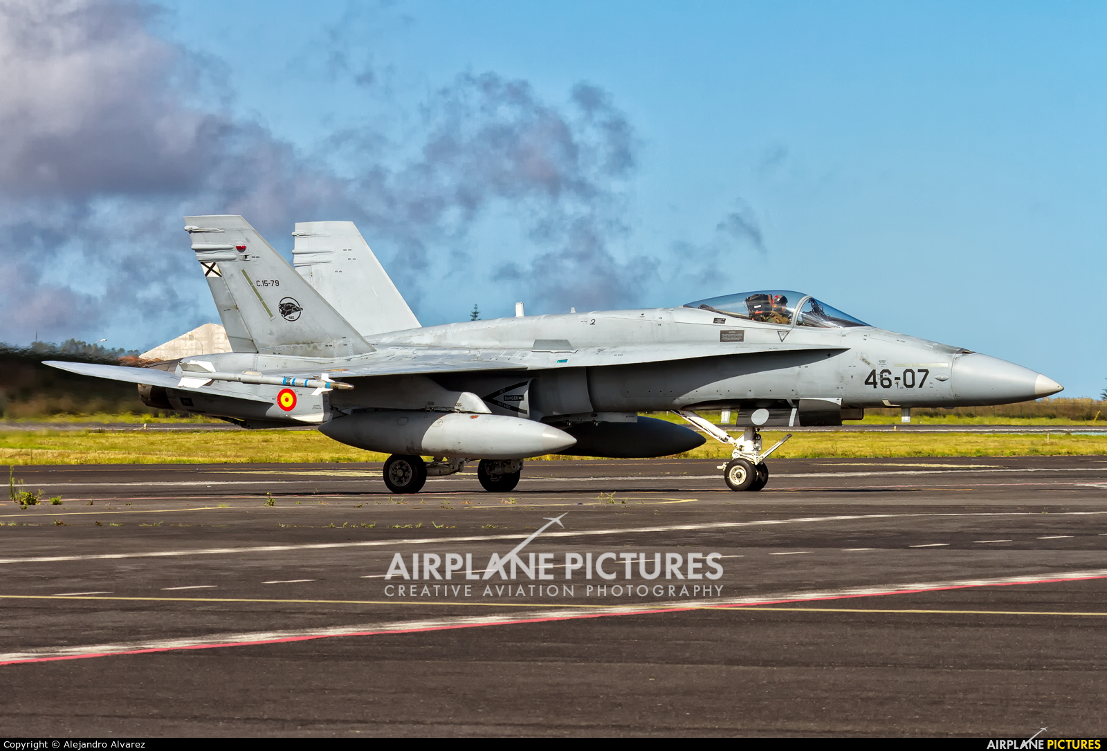 Spain - Air Force C.15-79 aircraft at Tenerife Norte - Los Rodeos