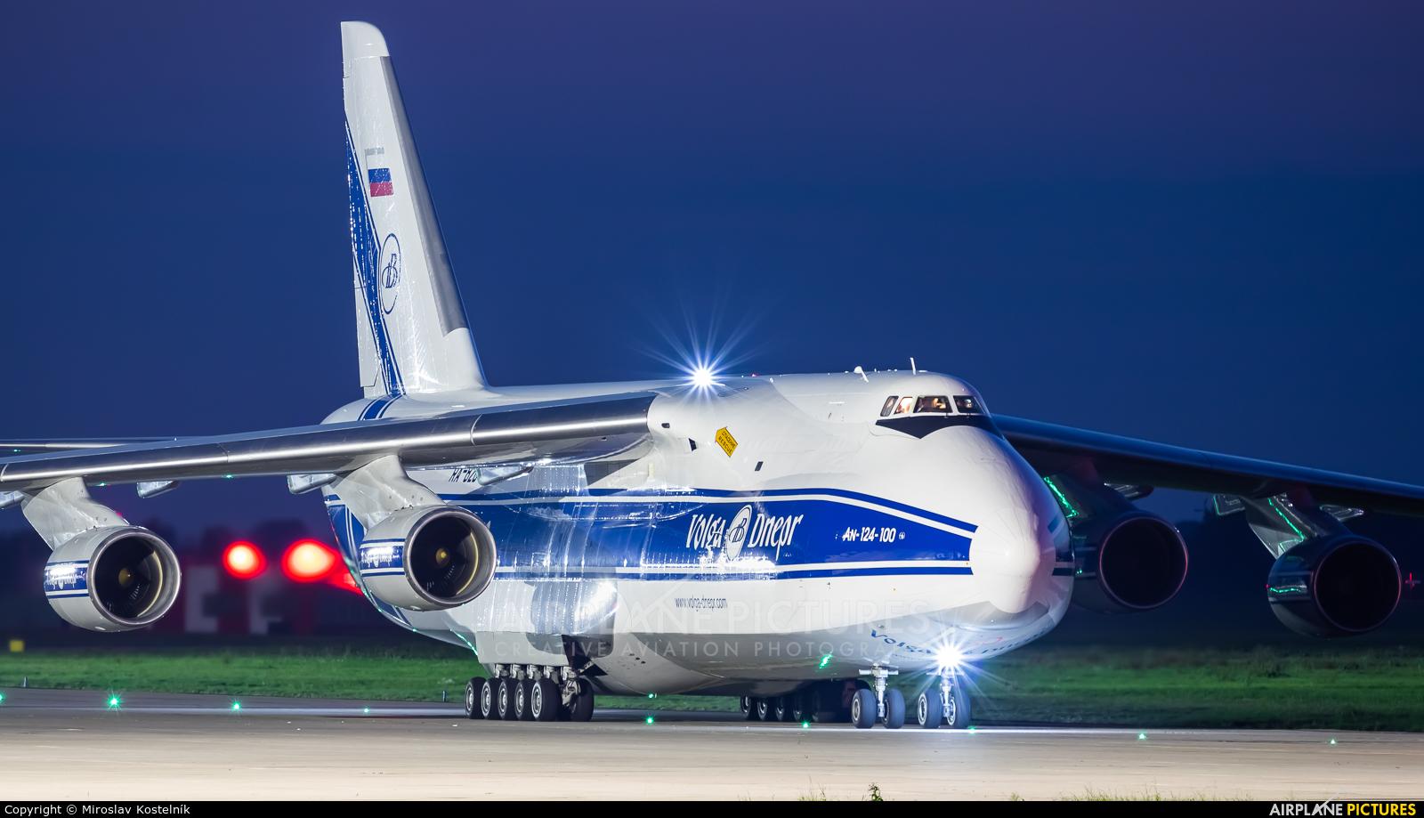 Volga Dnepr Airlines RA-82046 aircraft at Ostrava Mošnov
