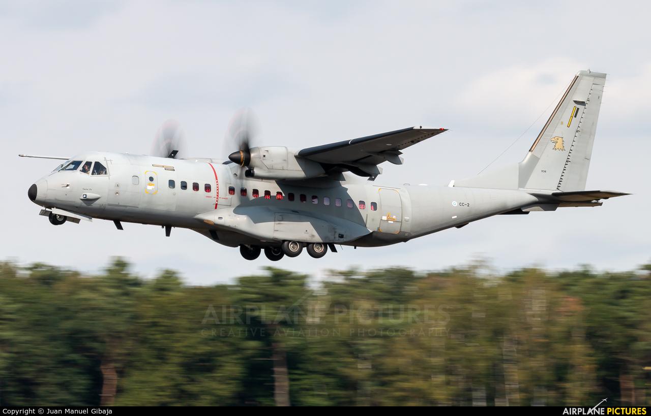 Finland - Air Force CC-2 aircraft at Kleine Brogel