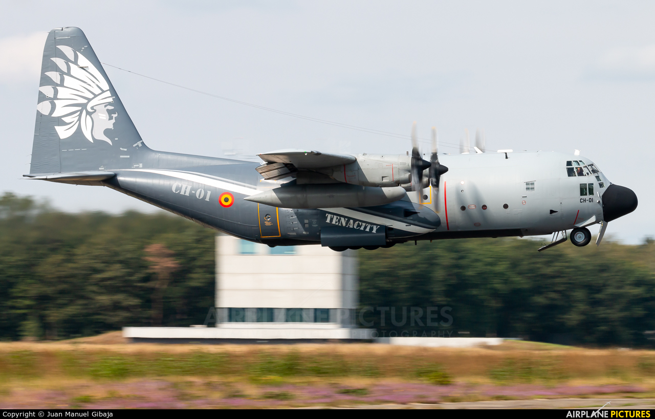 Belgium - Air Force CH-01 aircraft at Kleine Brogel