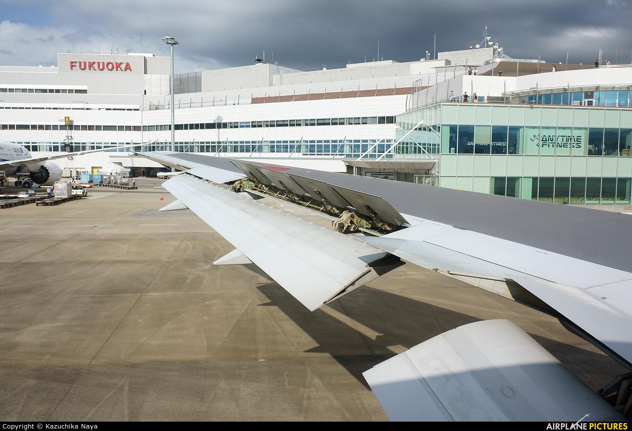 ANA - All Nippon Airways JA616A aircraft at Fukuoka