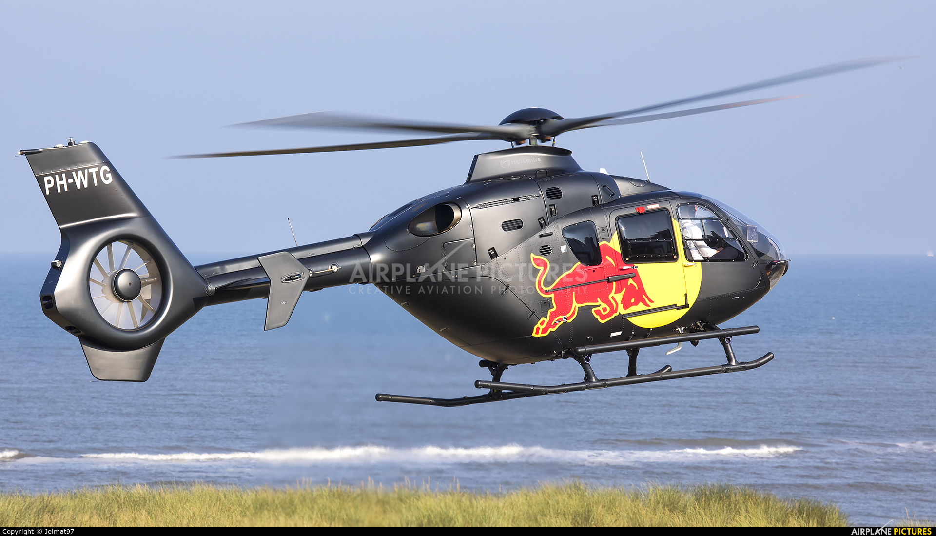 Helicentre PH-WTG aircraft at Off Airport - Netherlands