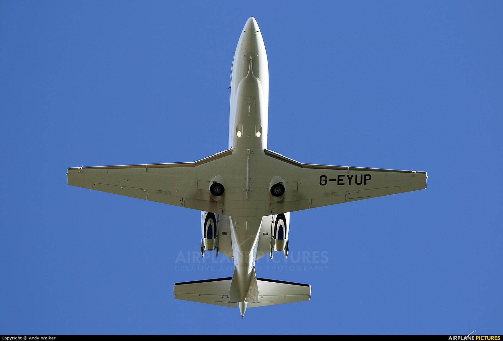 Private G-EYUP aircraft at Inverness