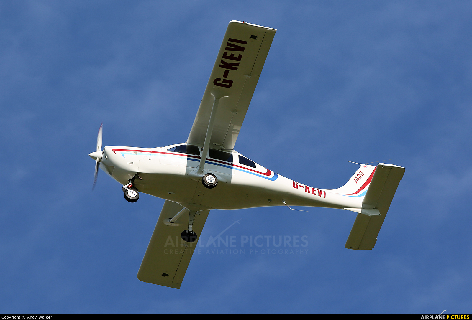 Private G-KEVI aircraft at Inverness