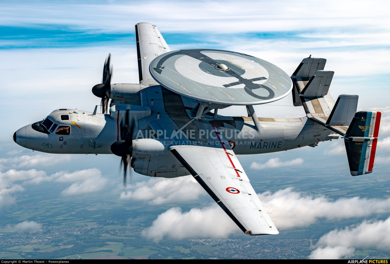 France - Navy 165455 aircraft at In Flight - Belgium