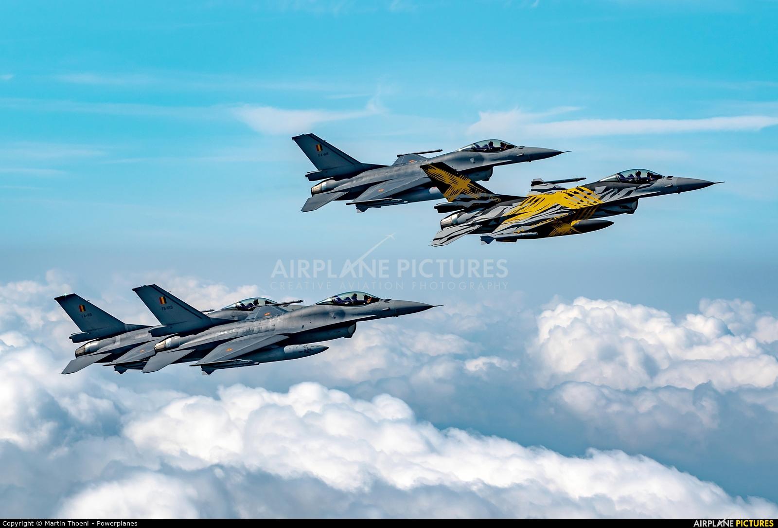 Belgium - Air Force FA-123 aircraft at In Flight - Belgium