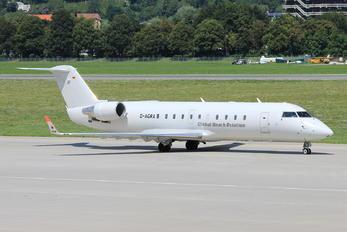 D-AGRA - Global Reach Aviation Bombardier CRJ-200LR