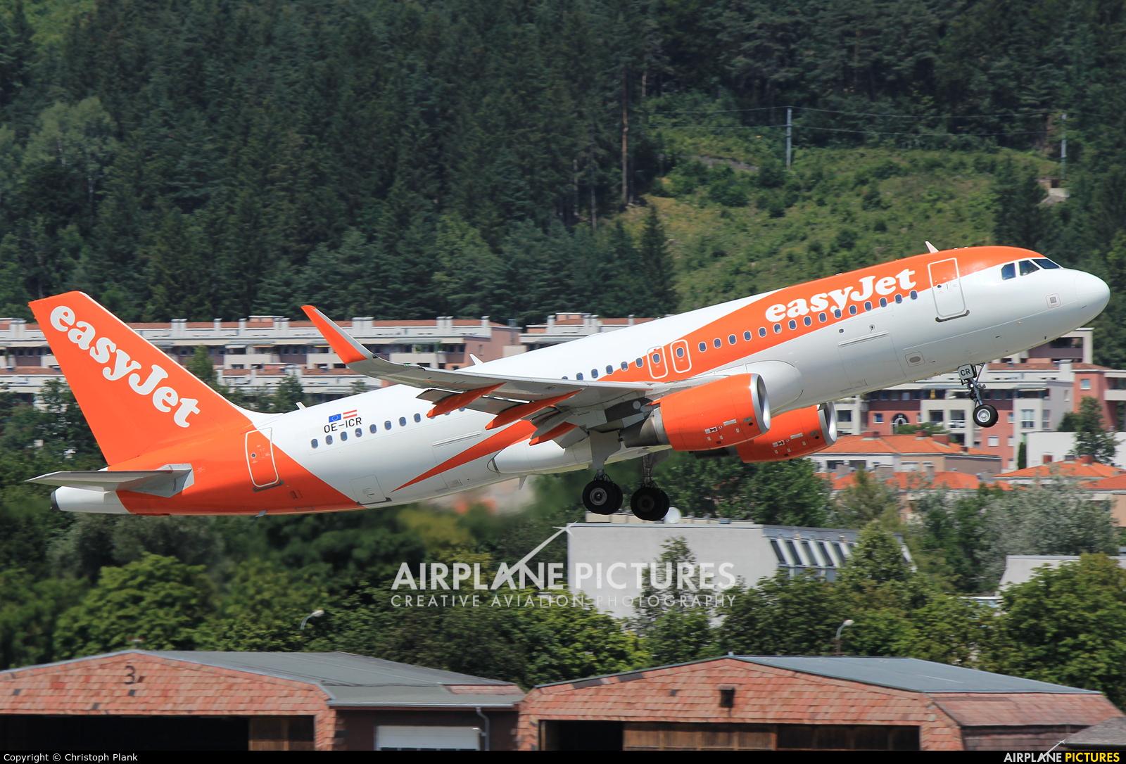 easyJet Europe OE-ICR aircraft at Innsbruck