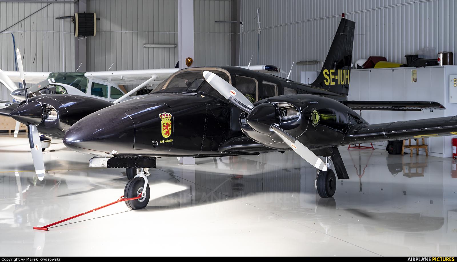 Private SE-IUH aircraft at Konstancin-Jeziorna