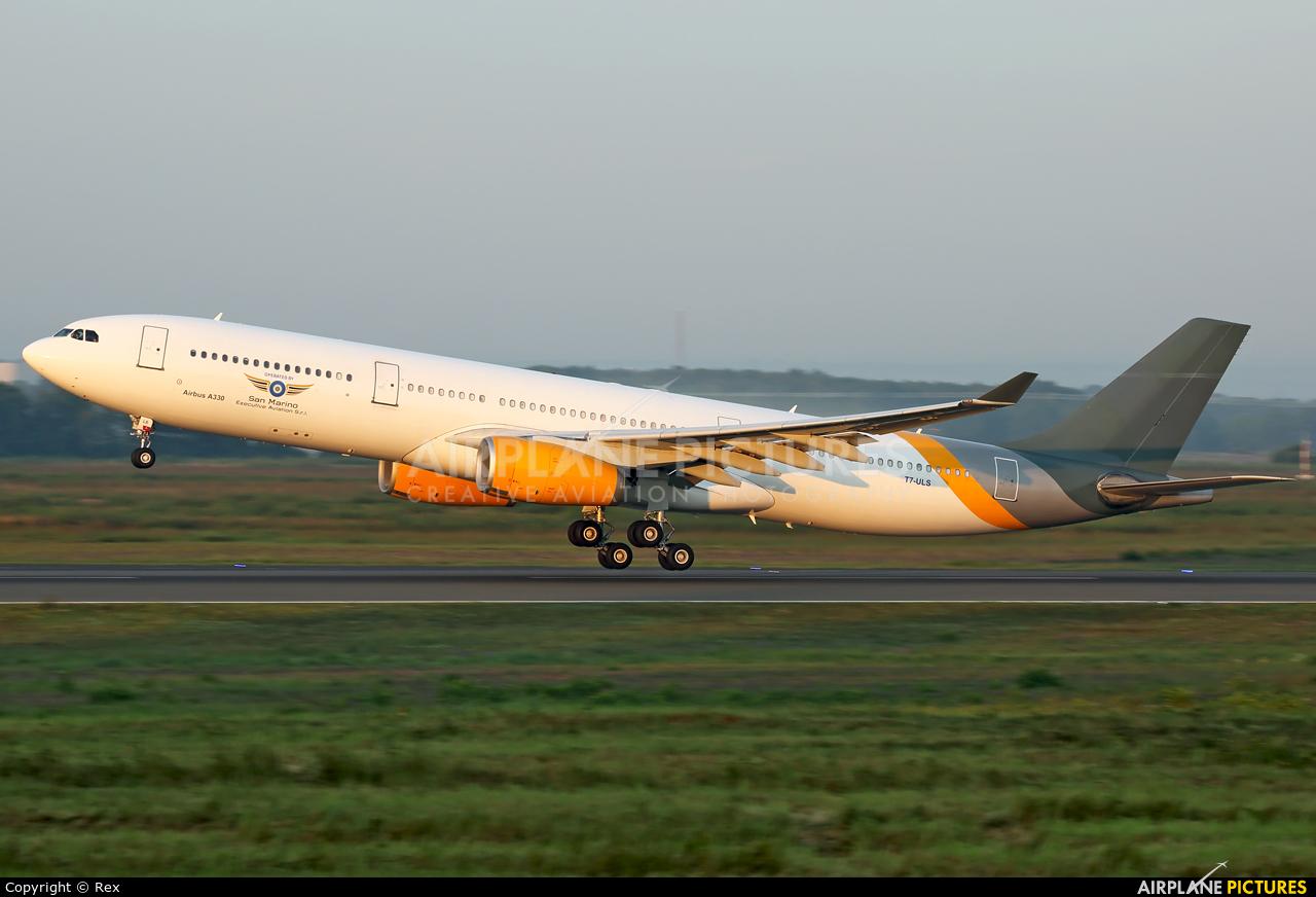 San Marino Executive Aviation T7-ULS aircraft at Cologne Bonn - Konrad Adenauer