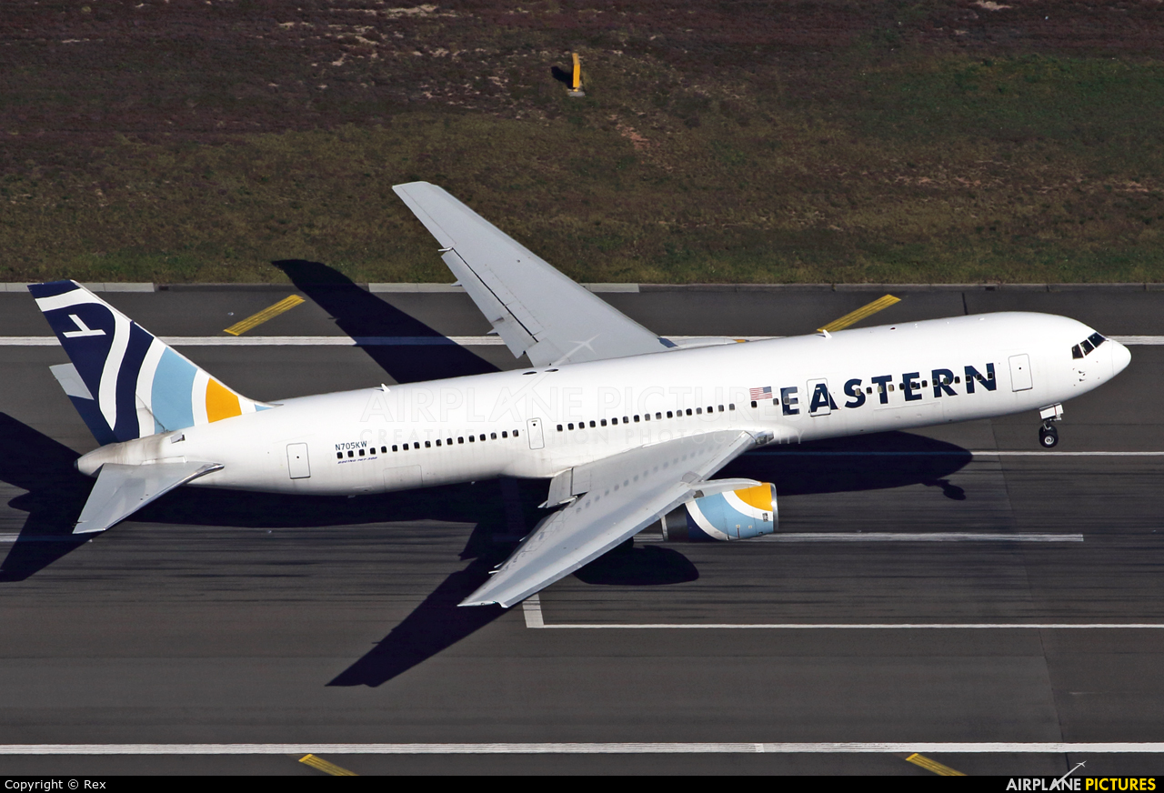 Eastern Airlines N705KW aircraft at Ramstein