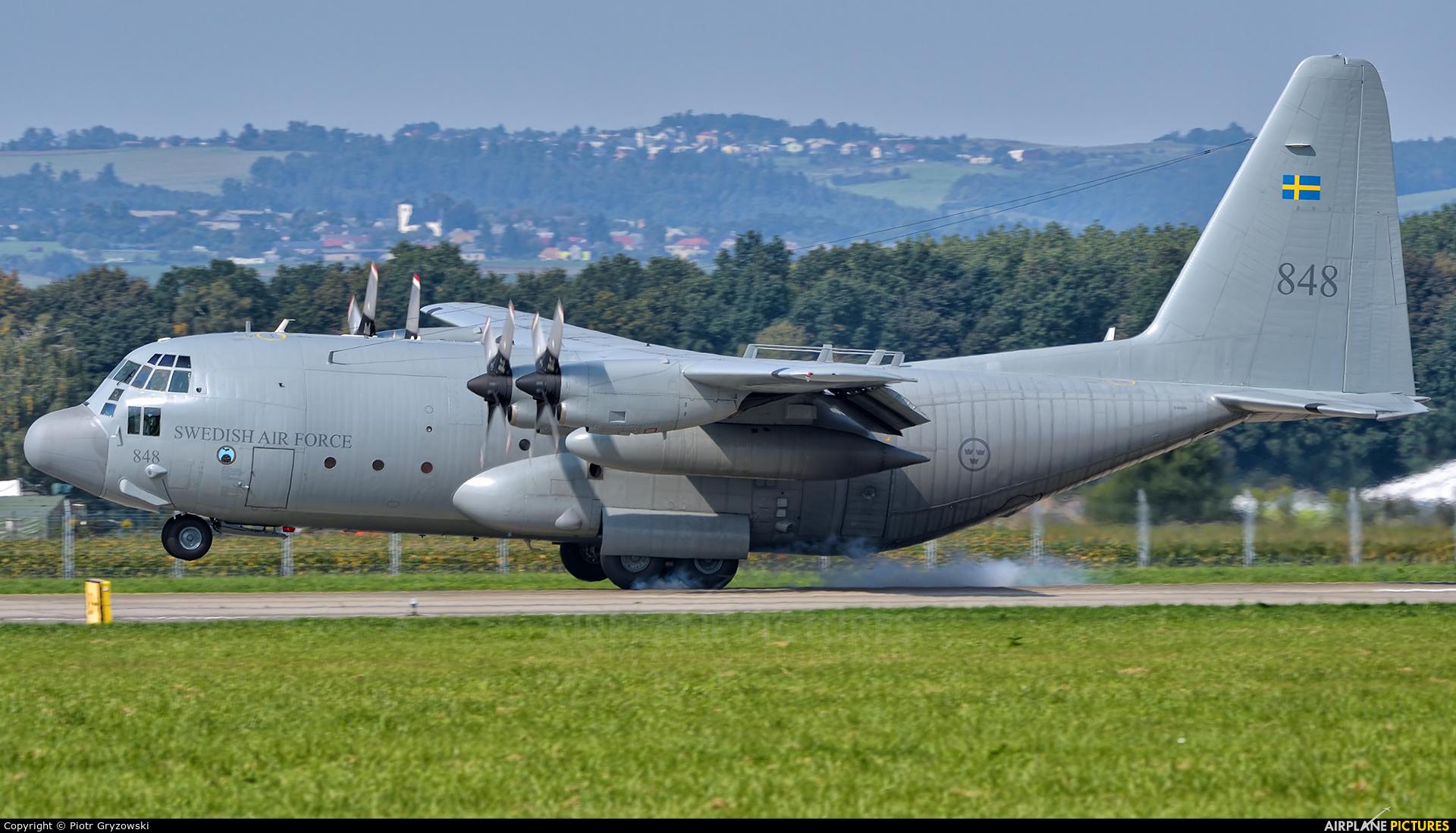 Sweden - Air Force 848 aircraft at Ostrava Mošnov