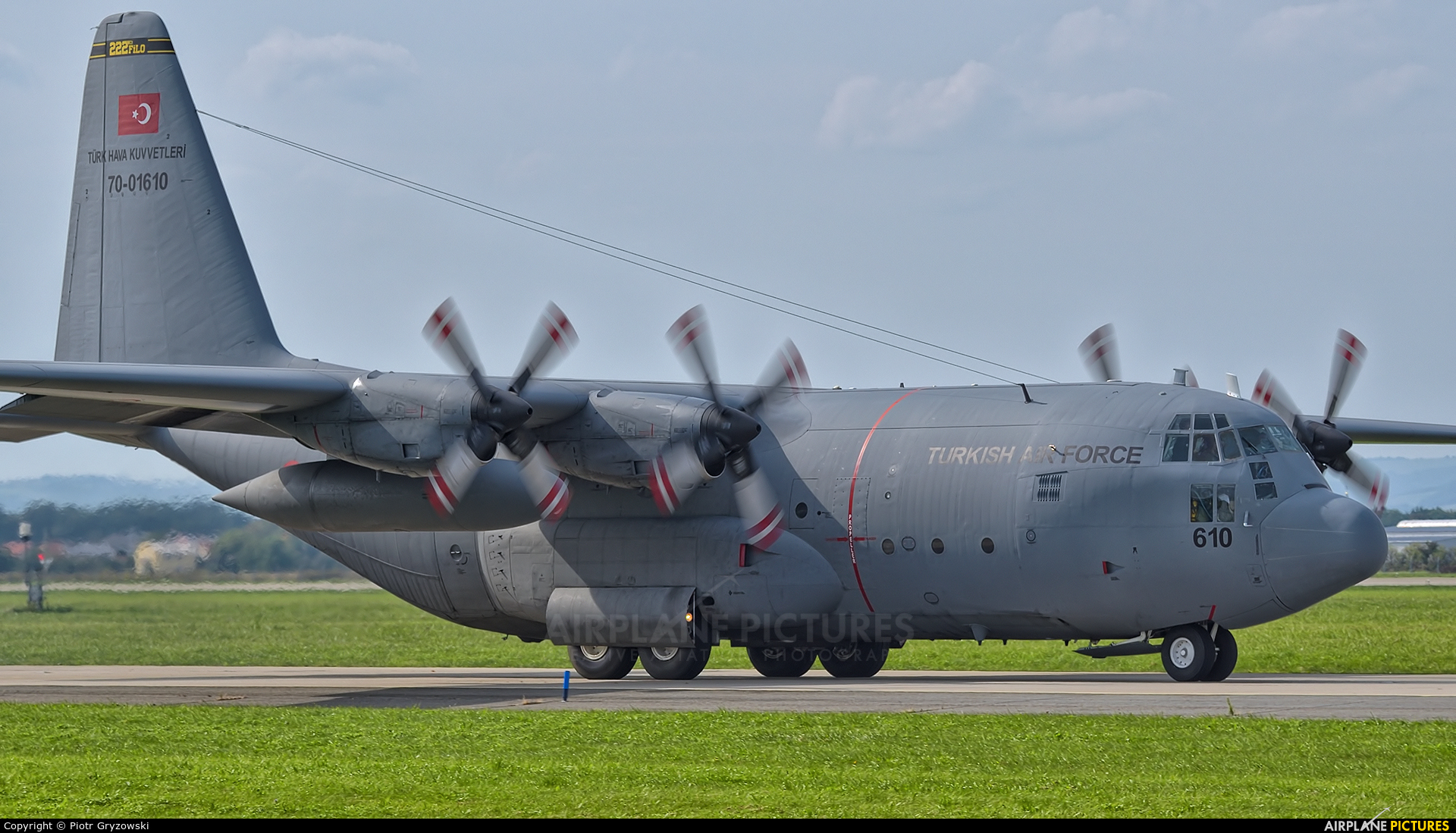 Turkey - Air Force 70-01610 aircraft at Ostrava Mošnov