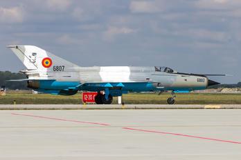 6807 - Romania - Air Force Mikoyan-Gurevich MiG-21 LanceR C