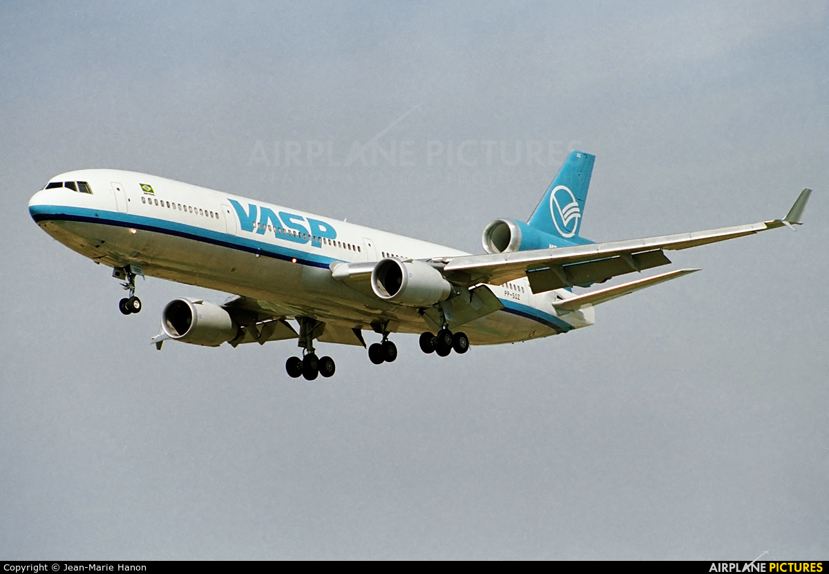 VASP PP-SOZ aircraft at Brussels - Zaventem