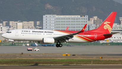 B-5402 - Shenzhen Airlines Boeing 737-800