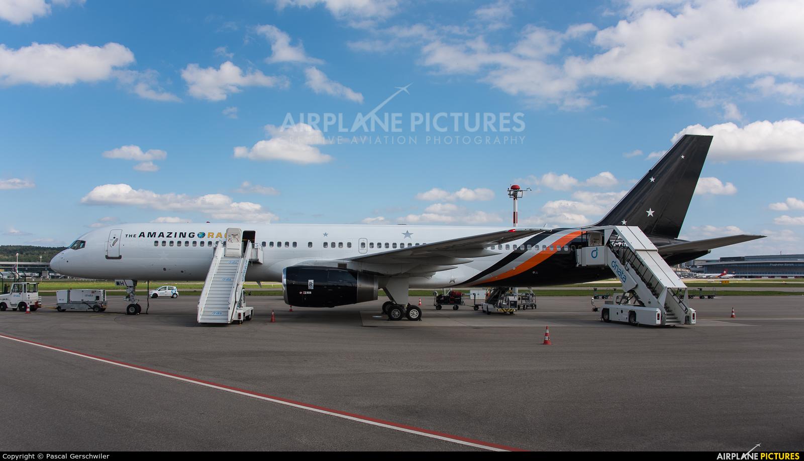Titan Airways G-POWH aircraft at Zurich