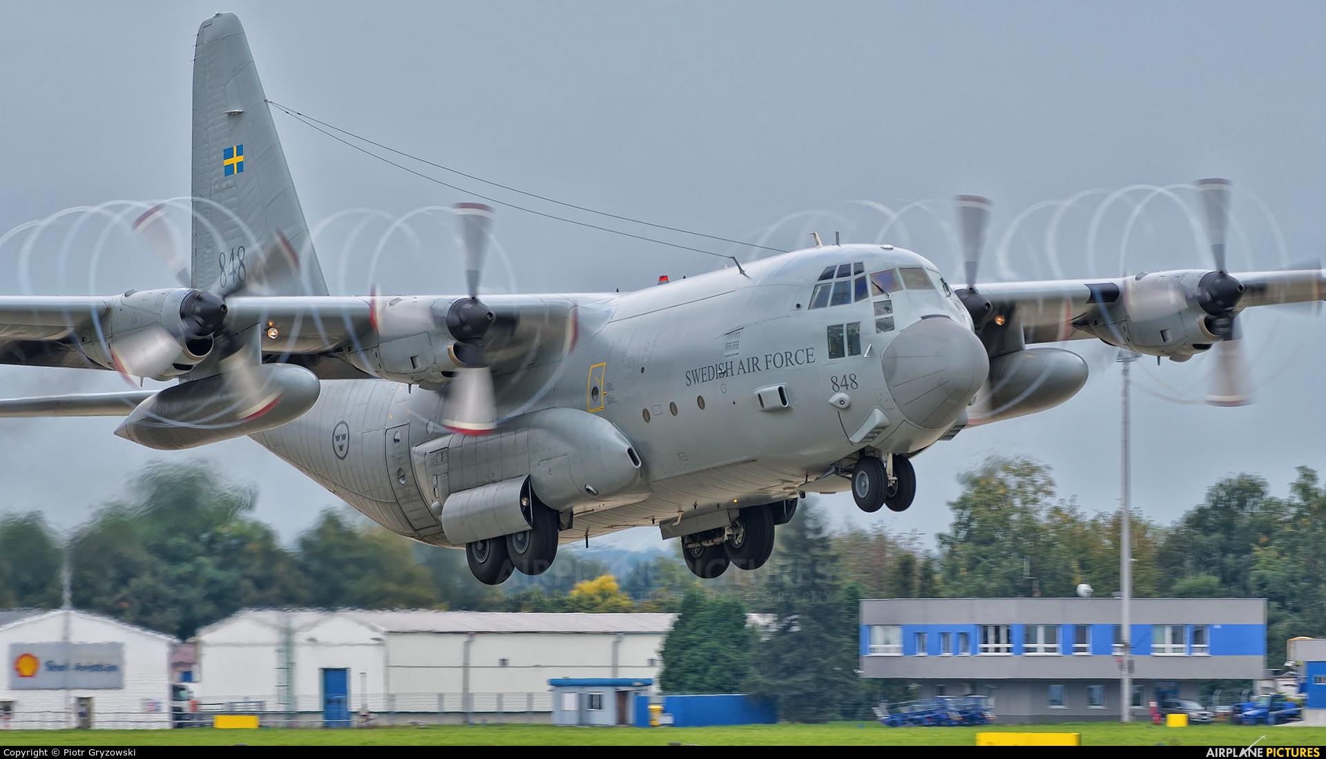 Sweden - Air Force 84008 aircraft at Ostrava Mošnov