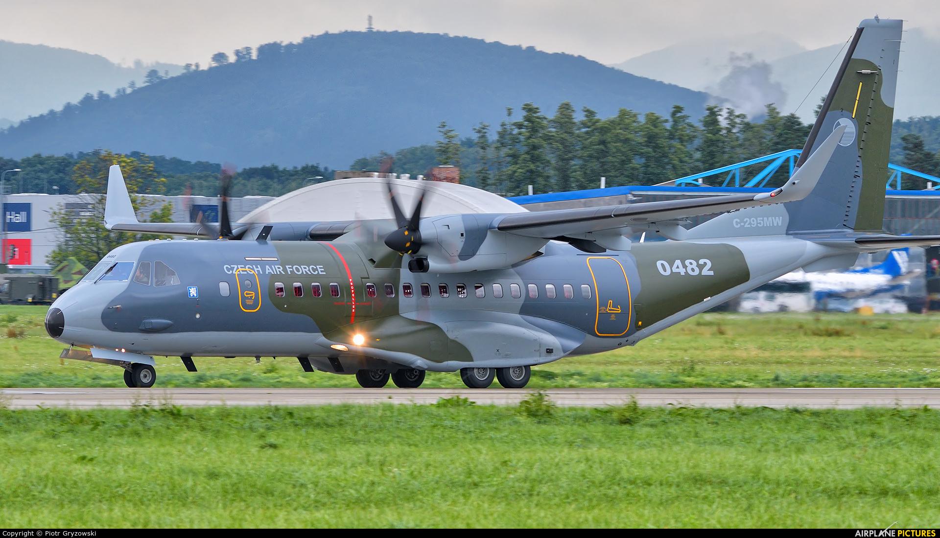 Czech - Air Force 0482 aircraft at Ostrava Mošnov